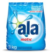Jabón En Polvo Ala 1er Lavado Manchas Difíciles 3kg