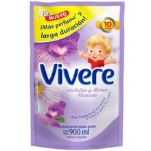 Suavizante Para Ropa Regular Violetas y Flores Blancas