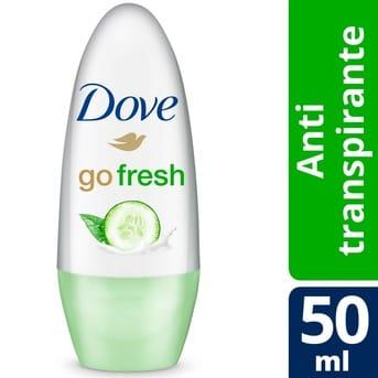 Antitranspirante Bolilla Dove Go Fresh Pepino y Té Verde 50ml