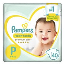 Pañales Pampers Premium Care Hiperpack