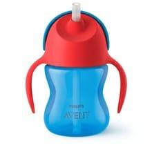 Vaso Bebe Straw Cup Sorbete Antiderrame 200ml