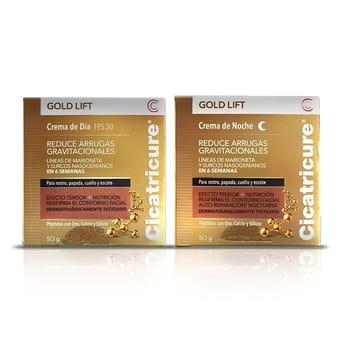 Combo Cicatricure Gold Lift Día-Noche Fps30 Antiarrugas 50g