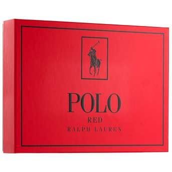 Cofre Polo Red Men Edt 125ml + Body shower 10ml + Desodorante 75g