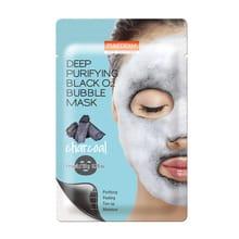 Máscara de Carbón Purederm Deep Puryfing Black O2 Bubble Mask