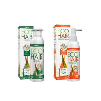 Pack tratamiento caida de pelo Shampoo 200ml + Loción 125ml