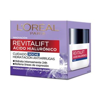 Crema Noche Revitalift Ácido Hialurónico 50ml
