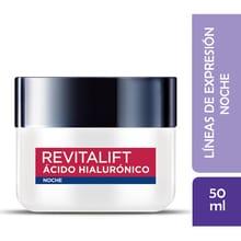 Crema Noche L'Oréal Paris Revitalift Ácido Hialurónico 50ml