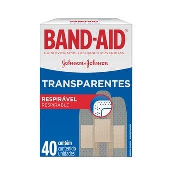 Apósitos Adhesivo Band Aid Transparente 40un