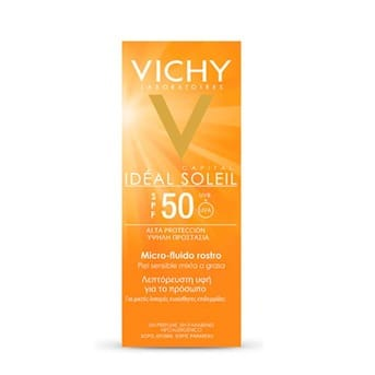Fluido Rostro Vichy Idéal Soleil Fps50 Micro 40ml