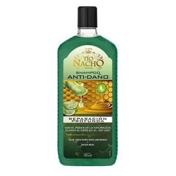 Shampoo Tio Nacho Anti Daño Reparación Profunda 200ml y 415ml