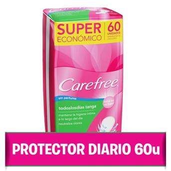 Protectores diarios Todos los Dias Tanga 60u