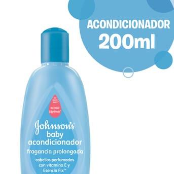 Acondicionador Johnson's Baby Fragancia Prolongada 200ml