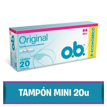 Tampones Originales O.B. Mini 20un
