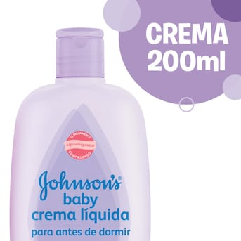 Crema Hidratante Bebé Antes De Dormir 200ml