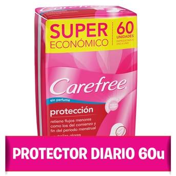Protectores Diarios Protección Original 60u
