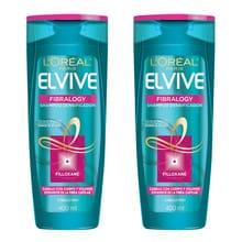Shampoo Elvive Fibralogy Creador Materia 400ml 2un
