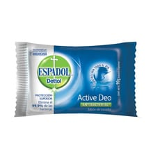 Jabón Antibacterial Manos Active Deo 90g 1u