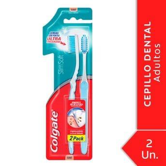 7591083017793 a1c1 cepillo dental colgate slim soft compact head 2unid promo precio especial
