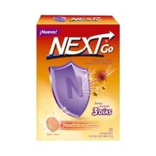 NExt go Vitamina C + Zinc Sabor Citrus 20 Comprimidos