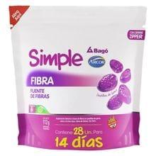 Suplemento Dietario Simple Fibra Bagó Arcor 28 Pastillas de Goma