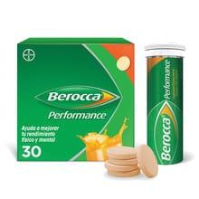 Berocca Performance Comprimidos Efervescentes 30un