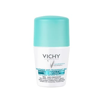 Desodorante Anti Manchas y Antitranspirante Vichy 48H 50ml