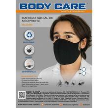 Barbijos Tapa Boca Neoprene Lavables Antipartículas Body Care