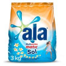Jabón en Polvo Lavarropa Sol Matic 3kg