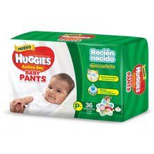 Pañal Active Sec Baby Pants Hiperpack