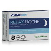 Suplemento Dietario Relax Noche Vitamin Way 20 Cápsulas
