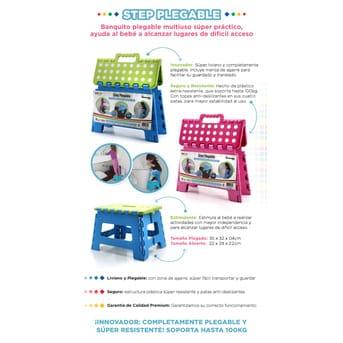 Banquito Plegable Baby Innovation Multiuso Step