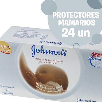 Protectores Lactancia Johnson's 24un