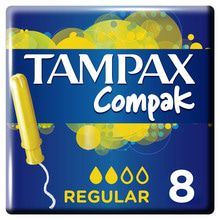 Compak Regular Absorbentes Internos Tampax 8un