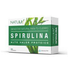 Suplemento Dietario Spirulina Natuliv 60 Comprimidos