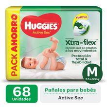 Huggies Active Sec Xtra-Flex Bigpack