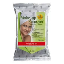Toallitas Makeup Remover Travel Tissues 20u