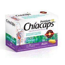 Suplemento Dietario Elea Chiacaps Premiun Oil Omega3 x 30un