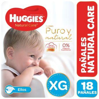 Pañales Huggies Natural Care Ellos Megapack