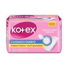 Protector Diario Multiforma sin perfume 20 Unidades