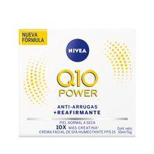 Crema Nivea Q10 Antiarrugas Humectante Día 50ml