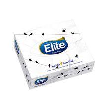 Elite Pañuelos Descartables Doble Hoja Caja x 75u