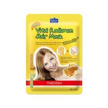 Máscara de Pelo Purederm Hair Mask Miel Luminosidad 2 en 1
