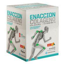 Enacción Colageno Naranja 10 sobres 12g c/u