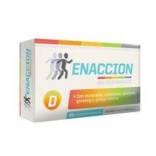 Suplemento Dietario Ena Enaccion Multivitamínico x 30 Comprimidos