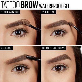 Tinte de cejas Maybelline Tattoo Brow Gel No Peel Off 6.8ml