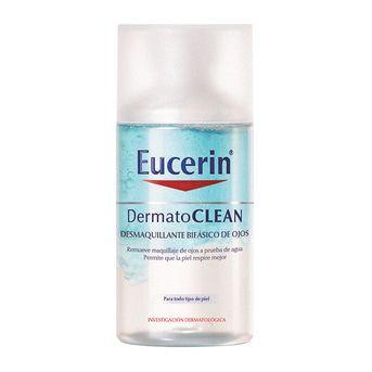 Eucerin Dermatoclean Desmaquillante Bifásico Ojos 125ml