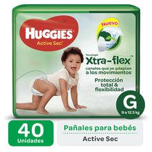 Huggies Active Sec Xtra-Flex Ultrapack