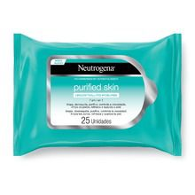 Toallitas Desmaquillantes Neutrogena Purified Skin 25u