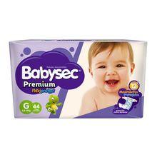 Pañales Babysec Premium Movimientos Protegidos Hiperpack