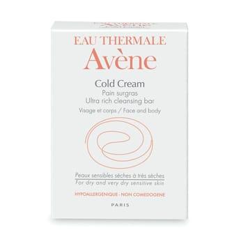 Pan Limpiador Avene Cold Cream 100g